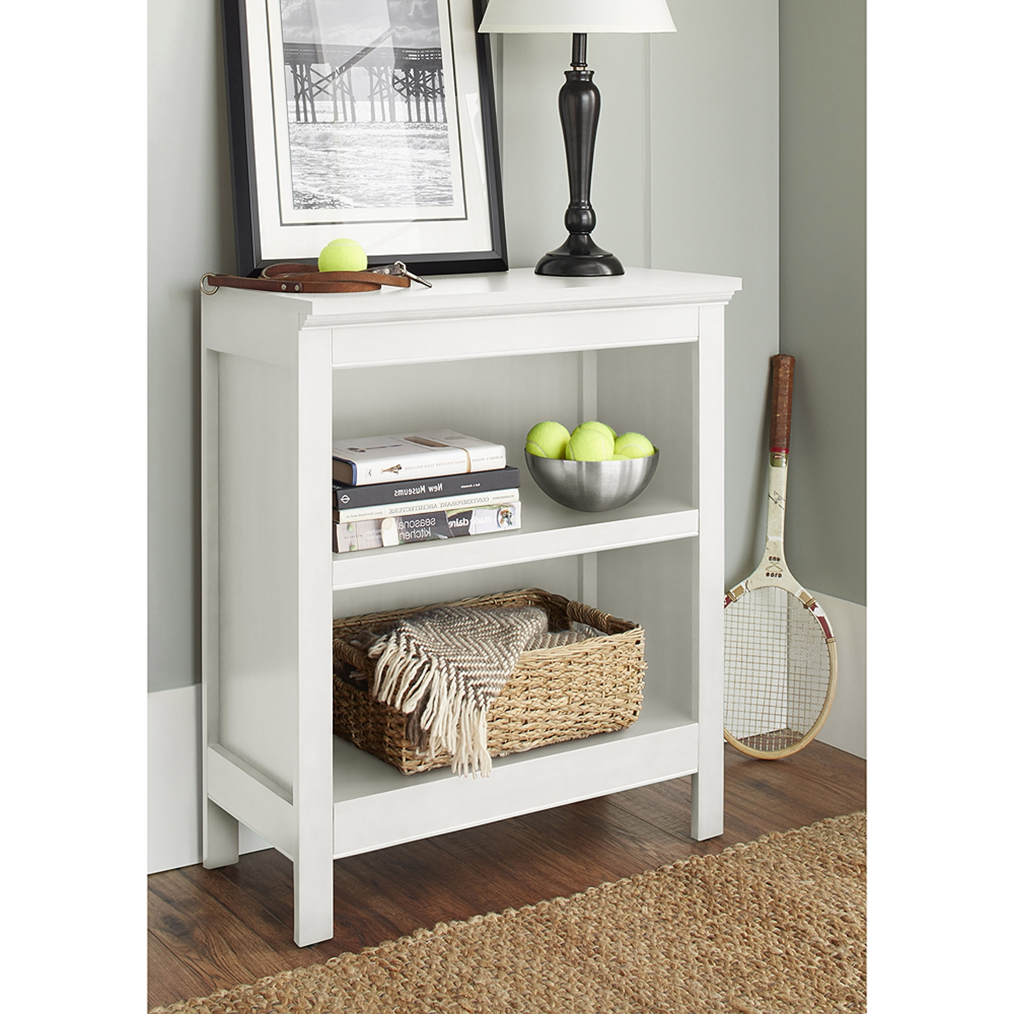 10 Spring Street Burlington Collection 2 Shelf Bookcase, Multiple With Regard To Trendy 2 Shelf Bookcases (View 9 of 15)