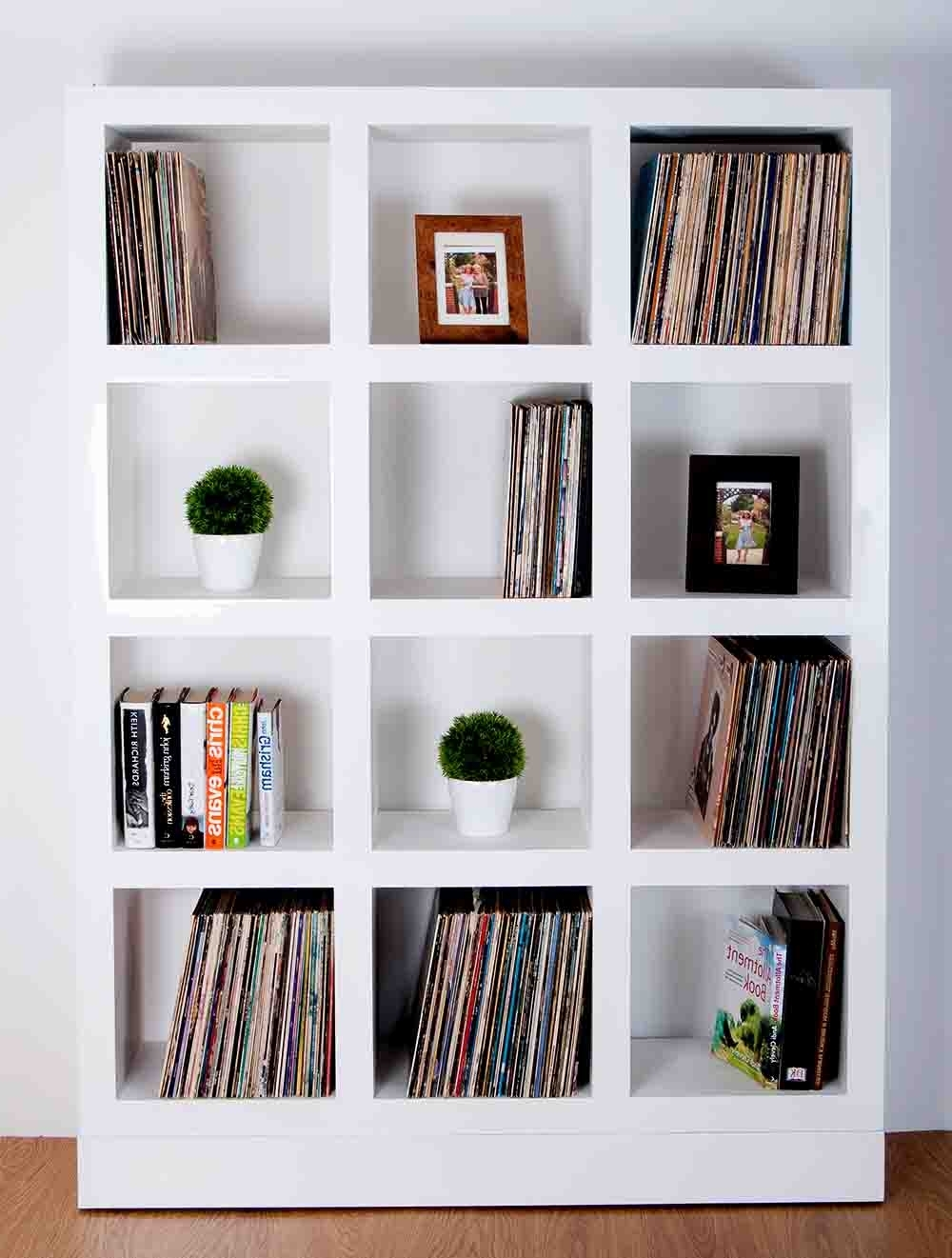 "12"" Vinyl Lp Storage Display Furniture Cabinets, Bespoke & Custom Made In Most Current Bespoke Cd Storage (Gallery 12 of 15)"