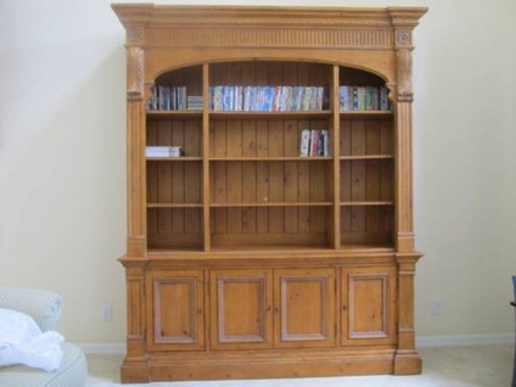 $200 Ethan Allen Library Bookcase Townhouse Collection For Sale With Regard To Well Known Ethan Allen Bookcases (View 2 of 15)
