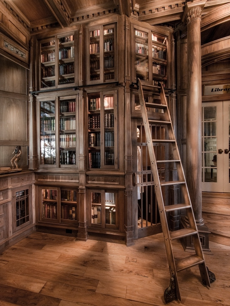 2017 Bespoke Library Throughout Stop Everything And Check Out This Homemade Bespoke Library (View 1 of 15)
