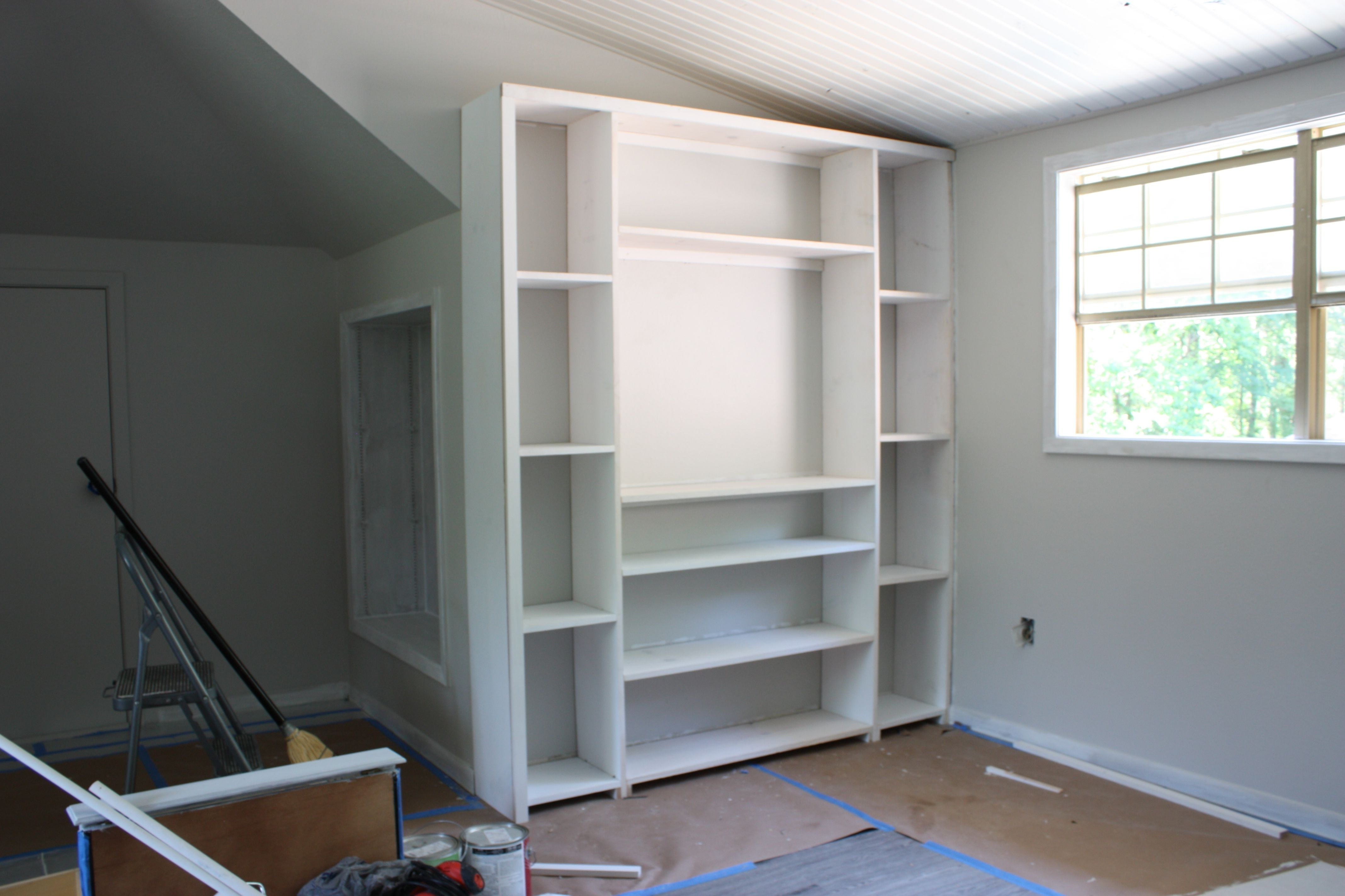 2017 Built In Bookcases Kits Intended For Shelves : Marvelous Charming Premade Built In Bookcases Floor To (View 1 of 15)