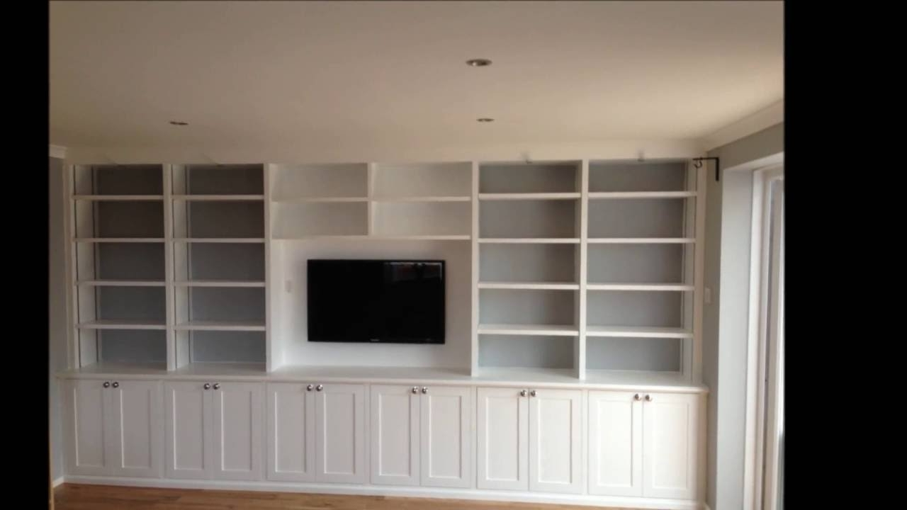 2017 Built In Cupboard Shelving Within Custom Built Cabinets With Adjustable Shelving – U D Carpentry (View 1 of 15)