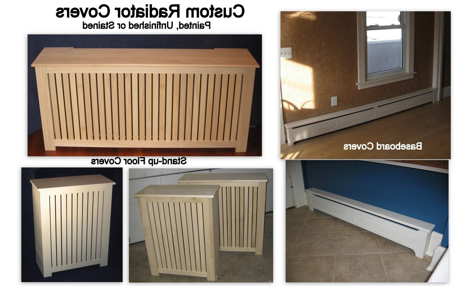 2017 Custom Baseboard Radiator Coverwoodwright Innovations For Radiator Cover Tv Stand (View 1 of 15)