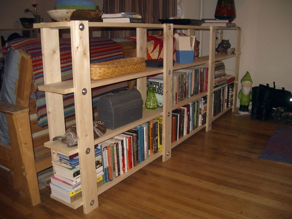 2017 Diy Bookcases Plans Intended For Cheap, Easy, Low Waste Bookshelf Plans: 5 Steps (With Pictures) (View 1 of 15)