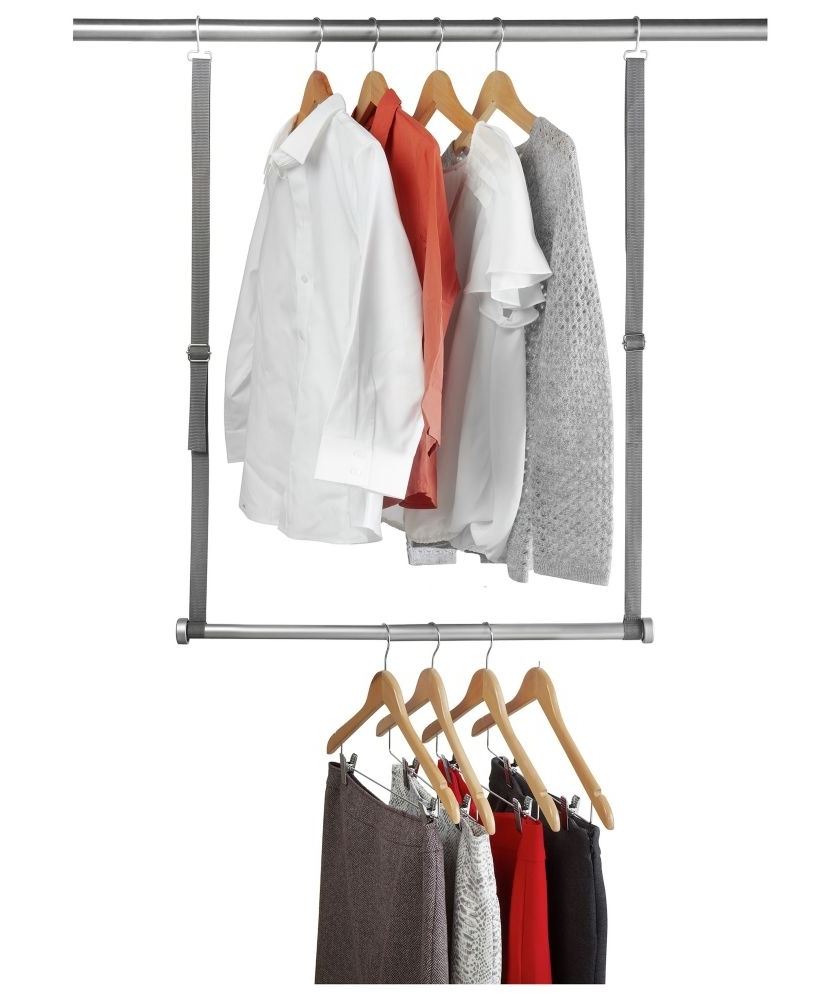 2017 Double Up Wardrobes Rails In Buy Double Up Wardrobe Storage Solution At Argos.co (View 1 of 15)