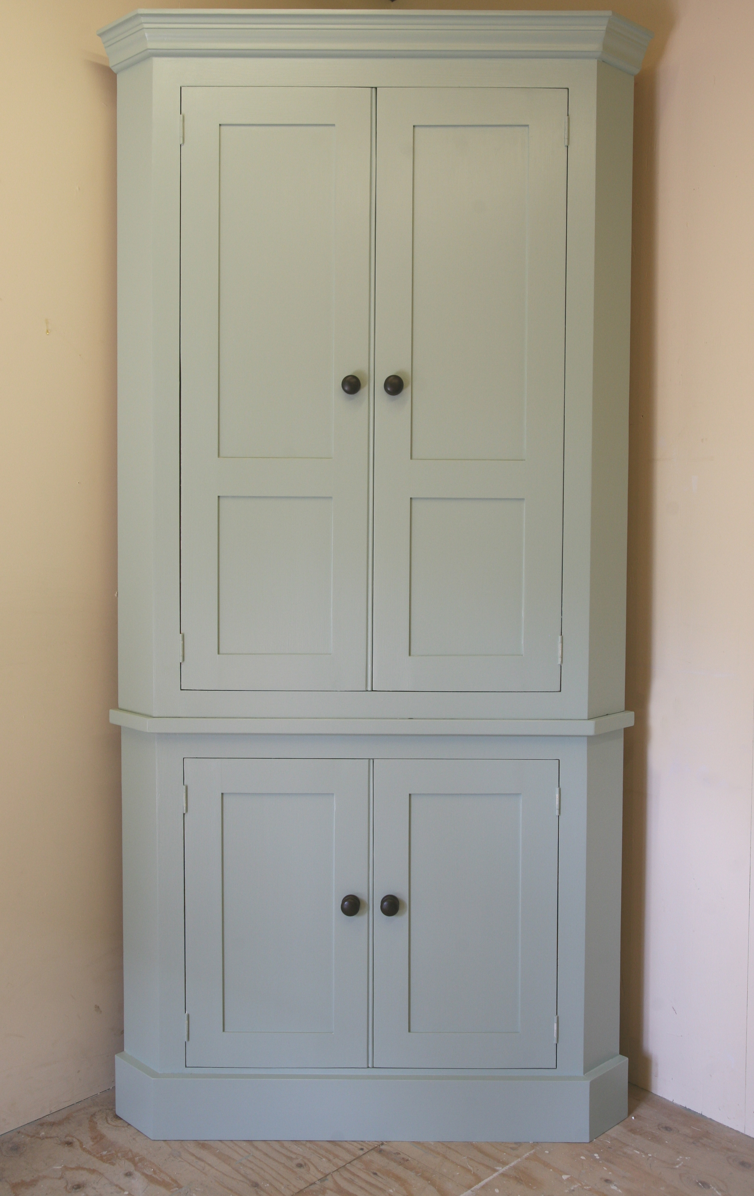 2017 Free Cupboards In Complete Your Corner With Our Tall Larder Corner Cupboard (View 4 of 15)
