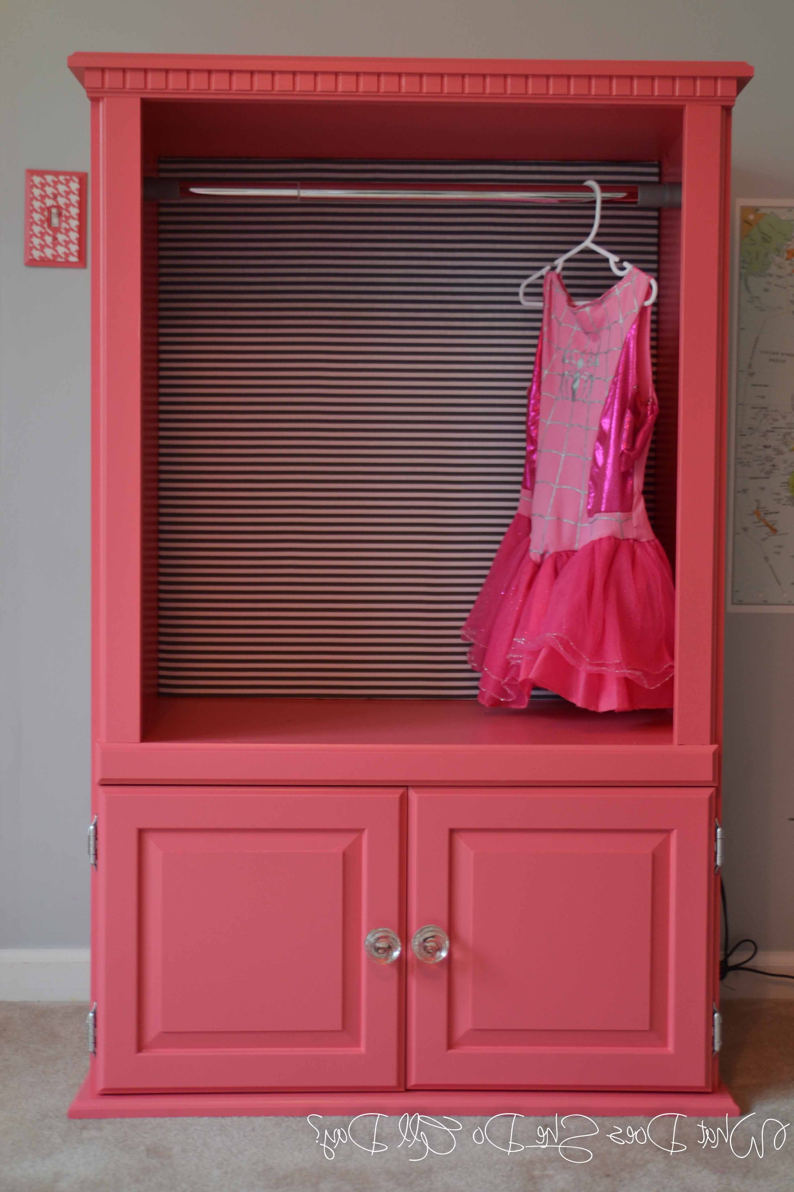 2017 Kids Dress Up Wardrobes Closet Within Dress Up Clothes Storage Diy – Storage Designs (View 2 of 15)