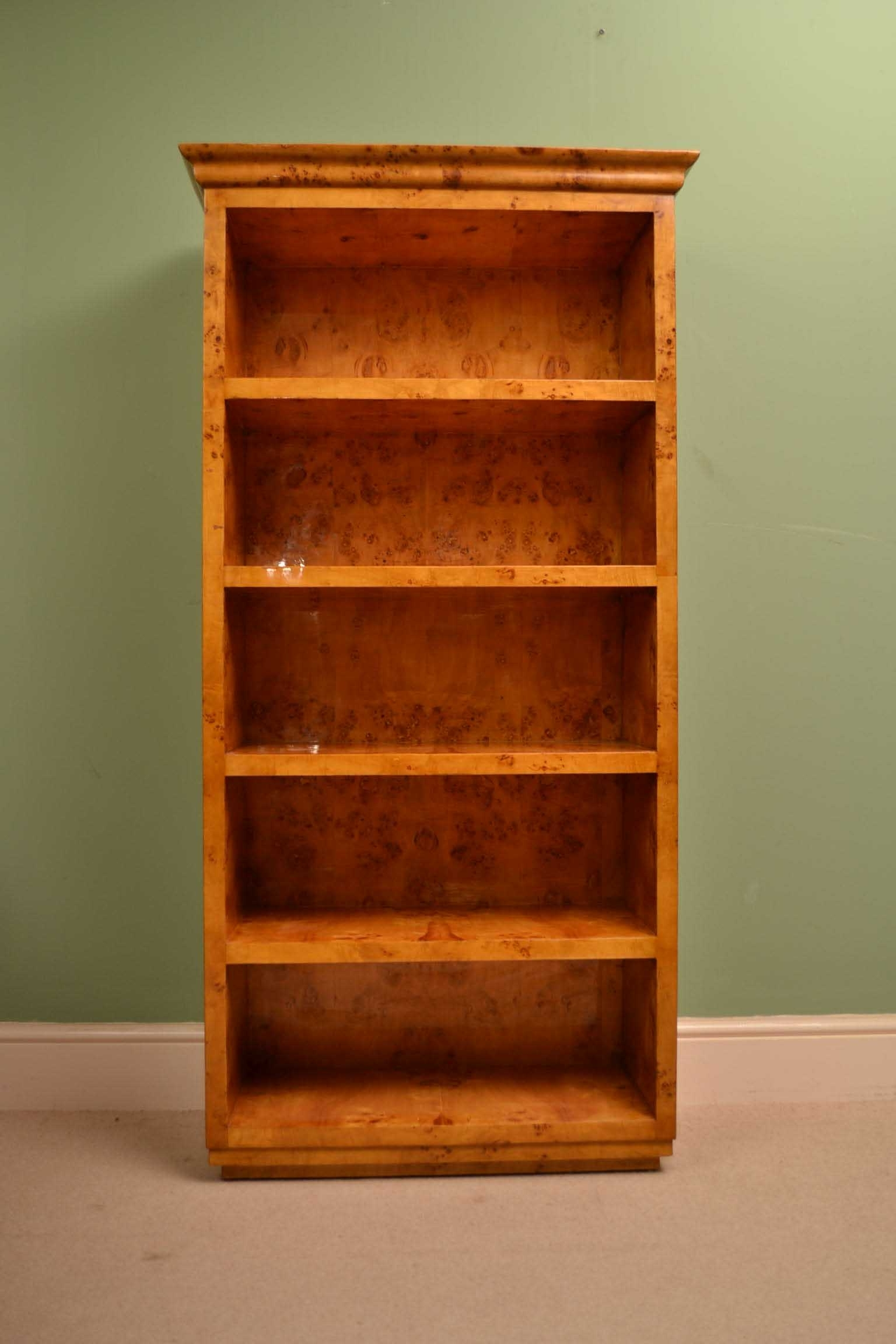 brushed com at shop pd sauder h lowes maple bookcase