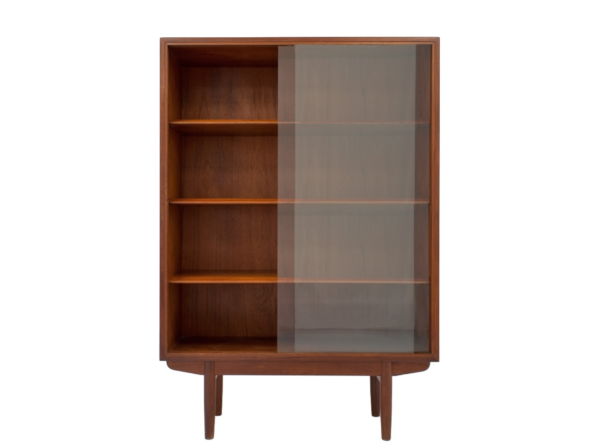 2017 Mid Century Bookcases Pertaining To Mid Century Teak Bookcaseborge Mogensen (View 1 of 15)