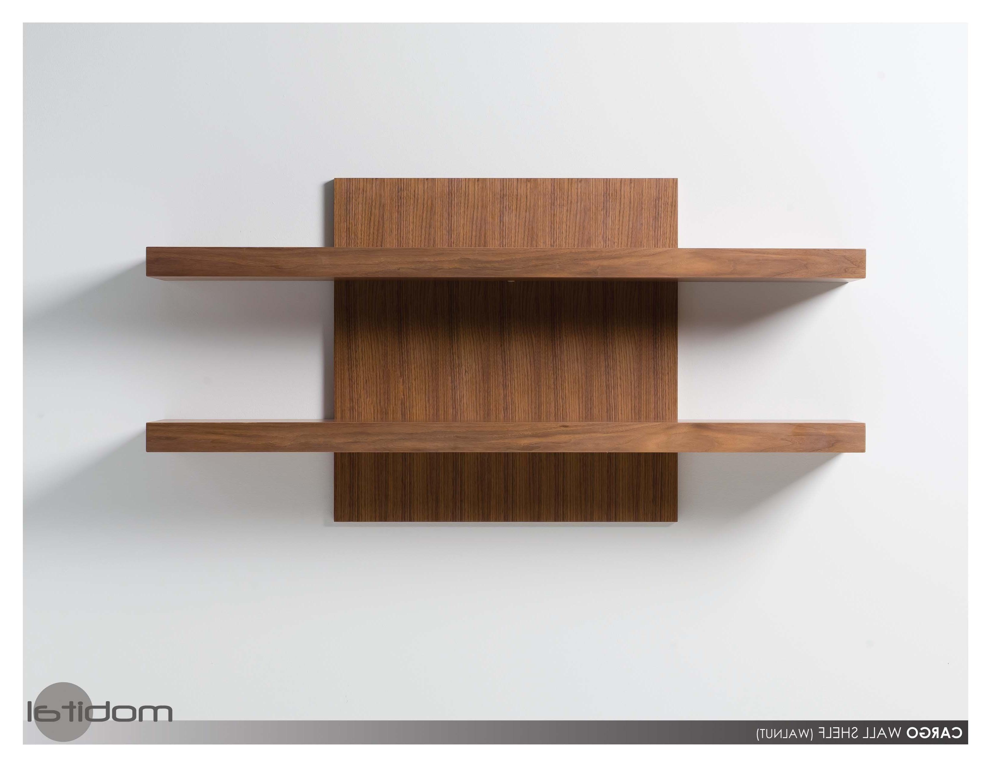2017 Modern Wall Shelves (View 13 of 15)