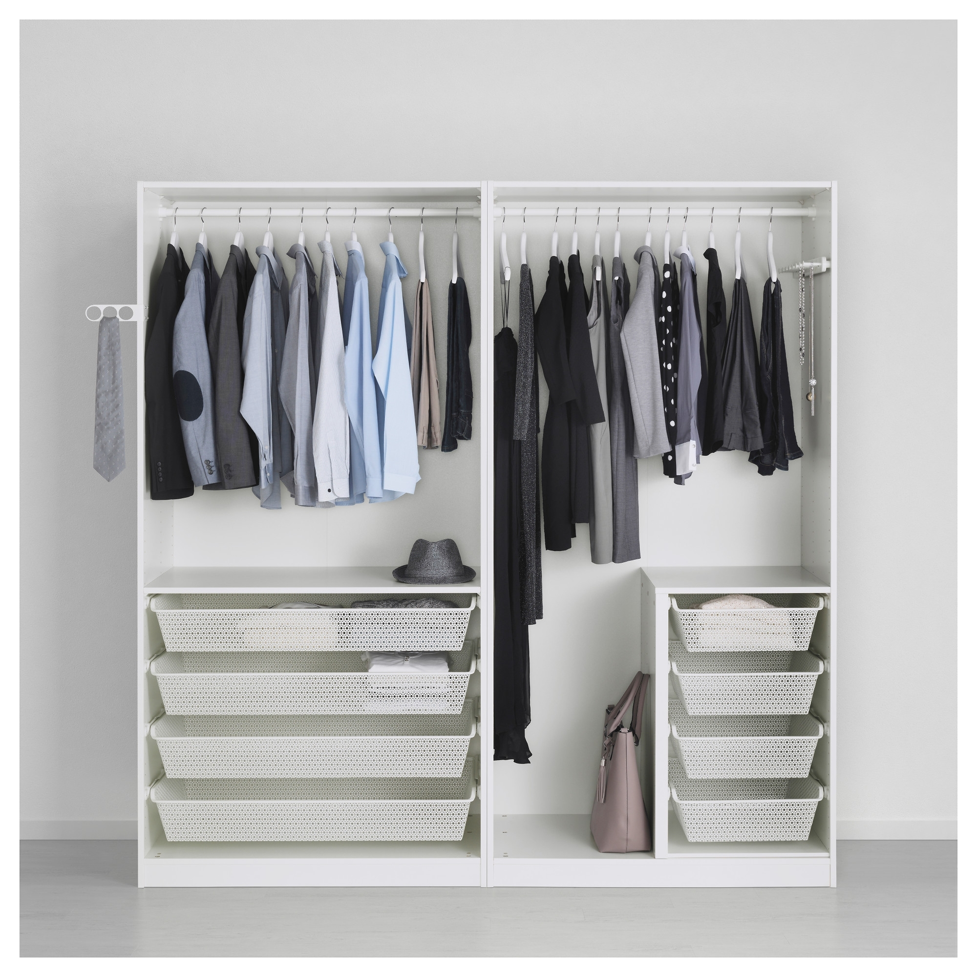 "2017 Pax Wardrobe – 78 3/4X26X79 1/4 "" – Ikea Intended For Wardrobes Drawers And Shelves Ikea (View 1 of 15)"
