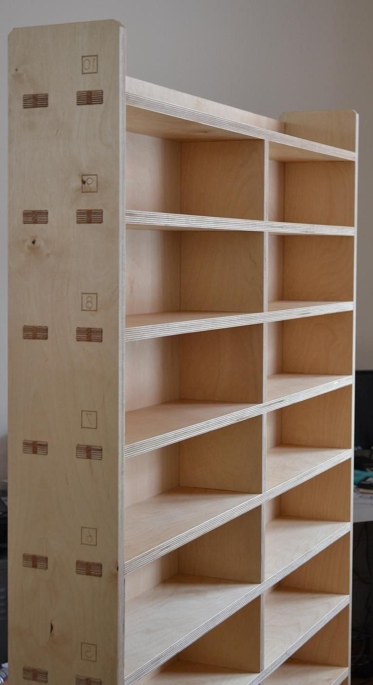 2017 Plywood Bookcases Regarding Opendesk – Studio / #200 Cnc Plywood Bookcase #cnc #plywood (View 1 of 15)