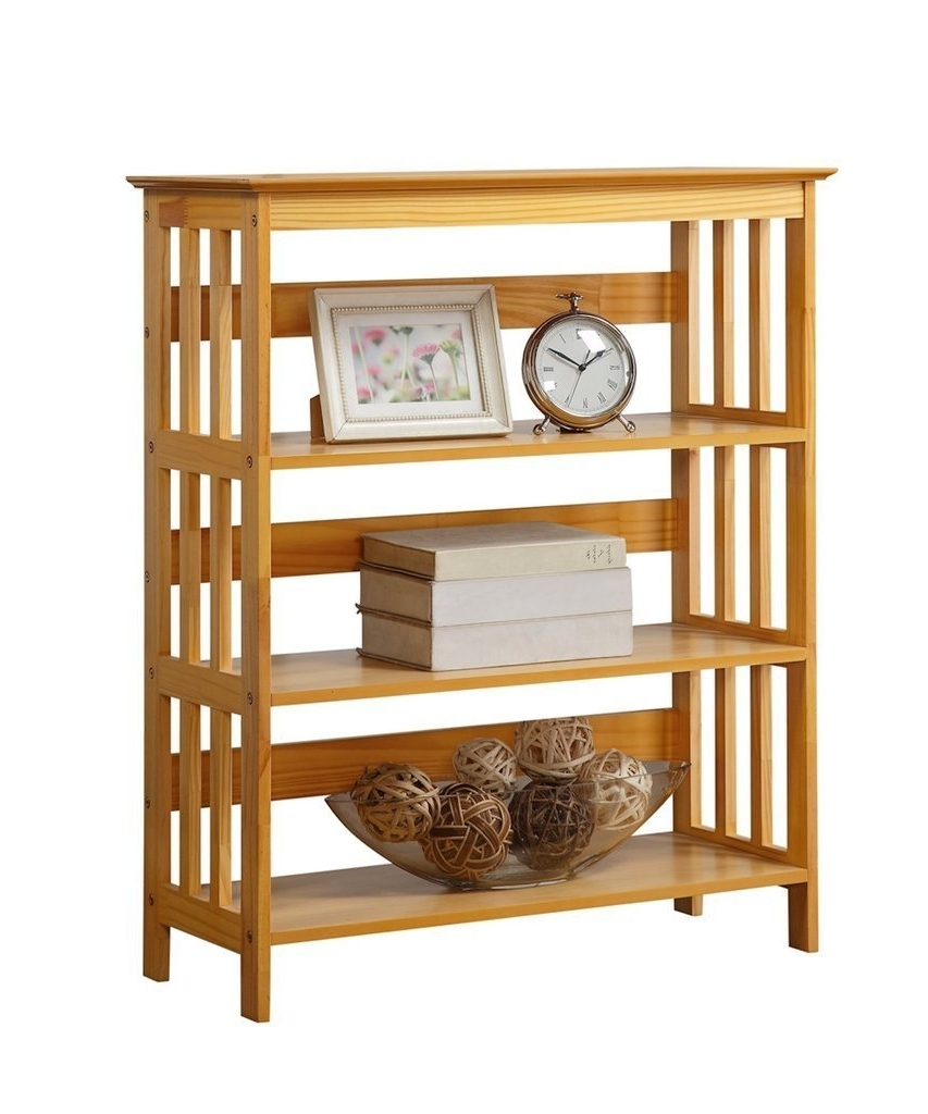 2018 Amazon: Legacy Decor 3 Tier Mission Style Bookshelves Bookcase Throughout Mission Bookcases (View 1 of 15)