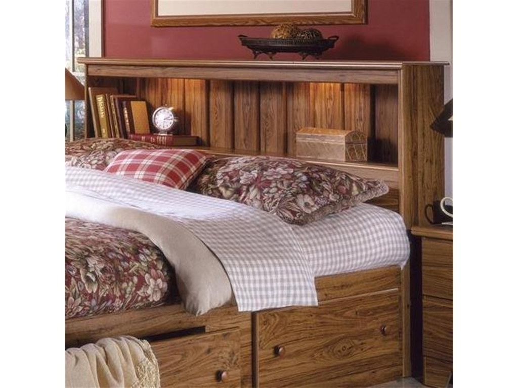 2018 Bed Frames : Interior Decoration Ideas Bedroom Furniture Artistic Pertaining To Queen Bookcases Headboard (View 15 of 15)