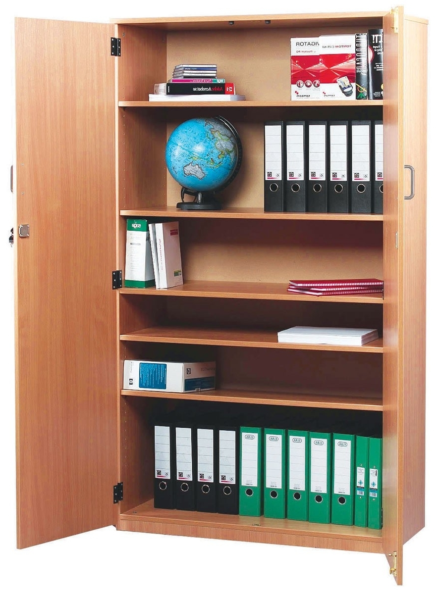 2018 Bookcases And Stock Cupboards Pertaining To Lockable Bookcases (View 1 of 15)