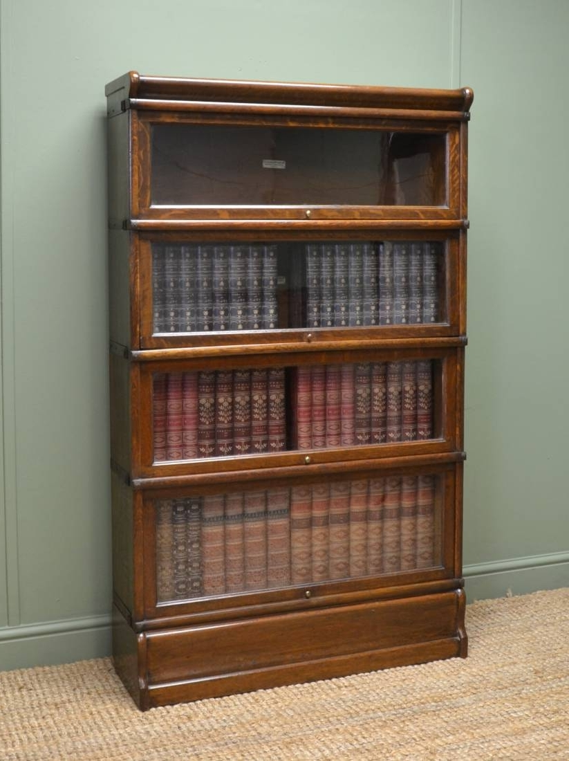 2018 Globe Wernicke Bookcase – Antiques World Intended For Globe Wernicke Bookcases (View 1 of 15)