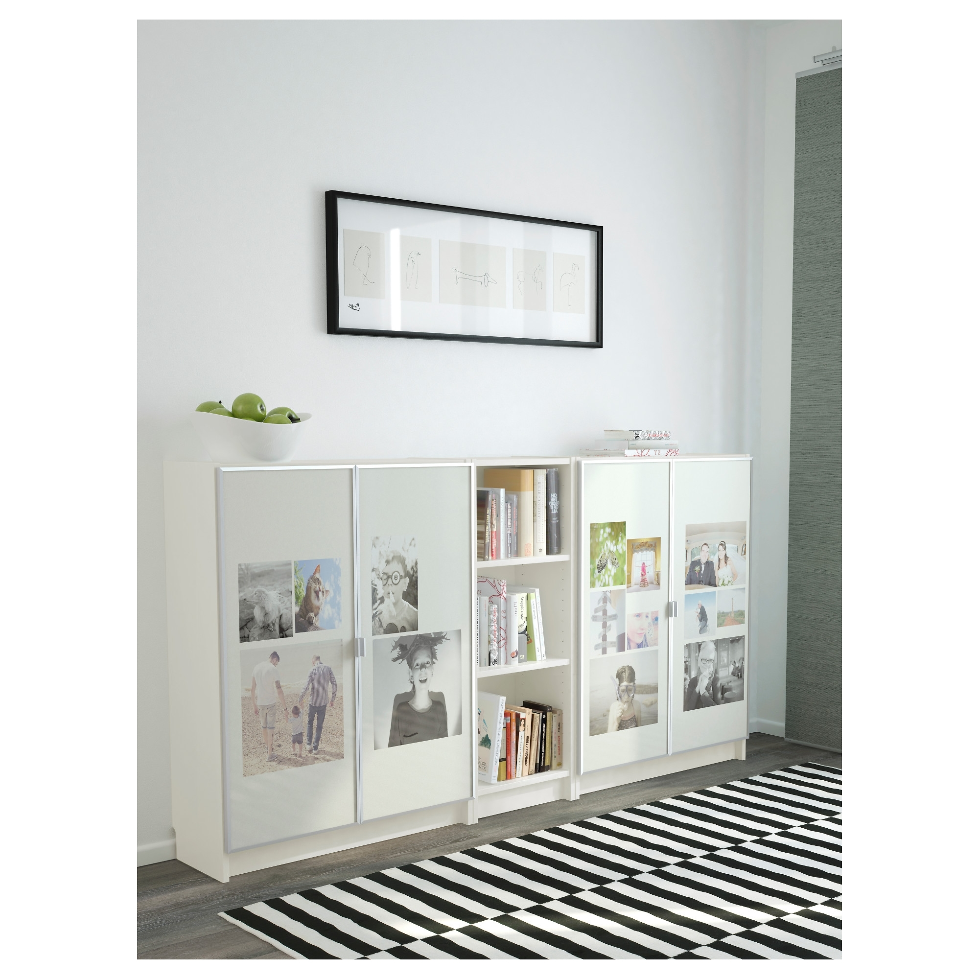 2018 Ikea Billy Bookcases Intended For Billy / Morliden Bookcase – White – Ikea (View 2 of 15)