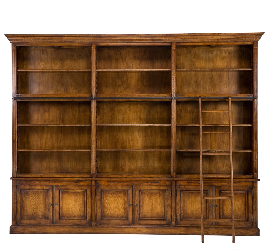 2018 Large Bookcase Plans, Bookcases With Glass Doors Bookcase With For Large Bookcases Plans (View 2 of 15)