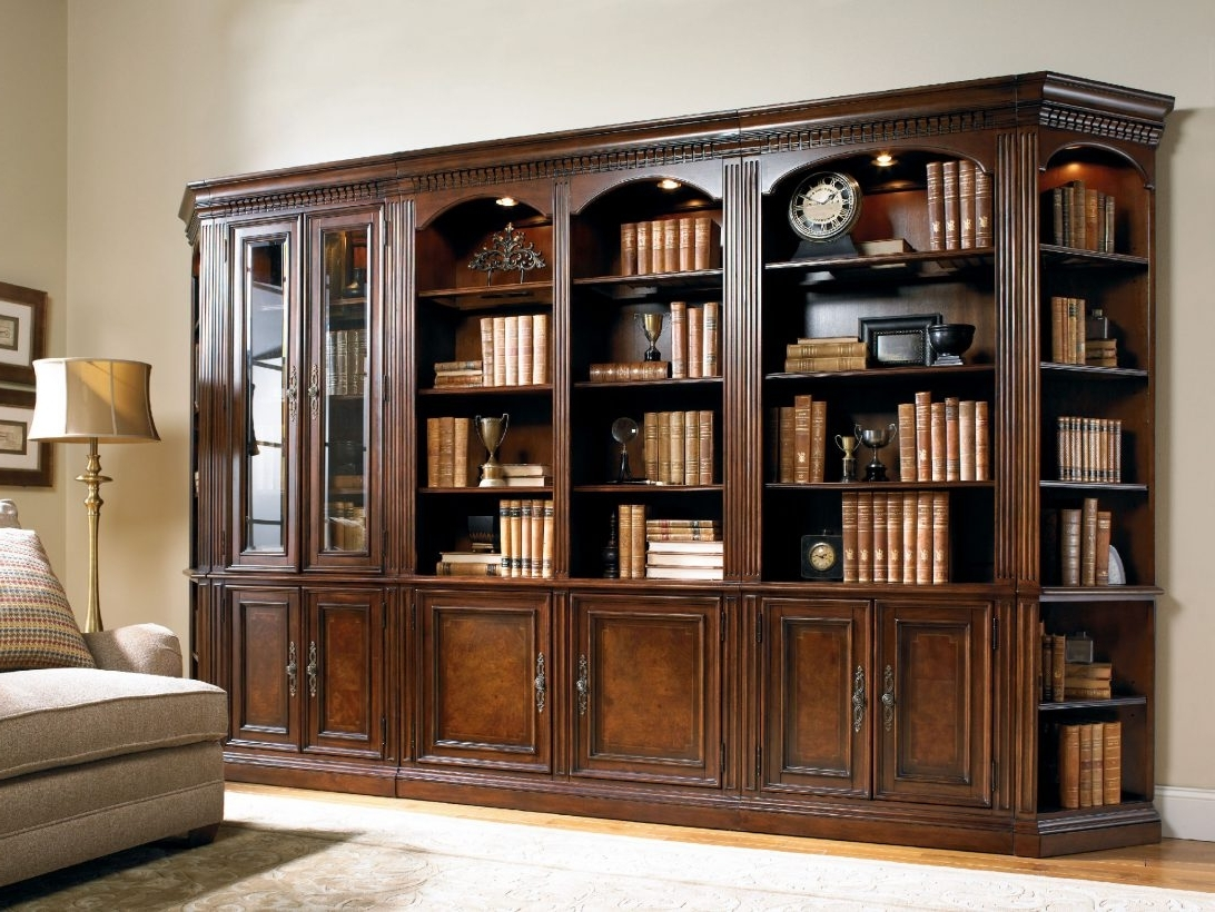 2018 Large Wooden Bookcases Pertaining To Large Wood Bookcases With Glass Doorslarge Doors Wooden European (View 1 of 15)