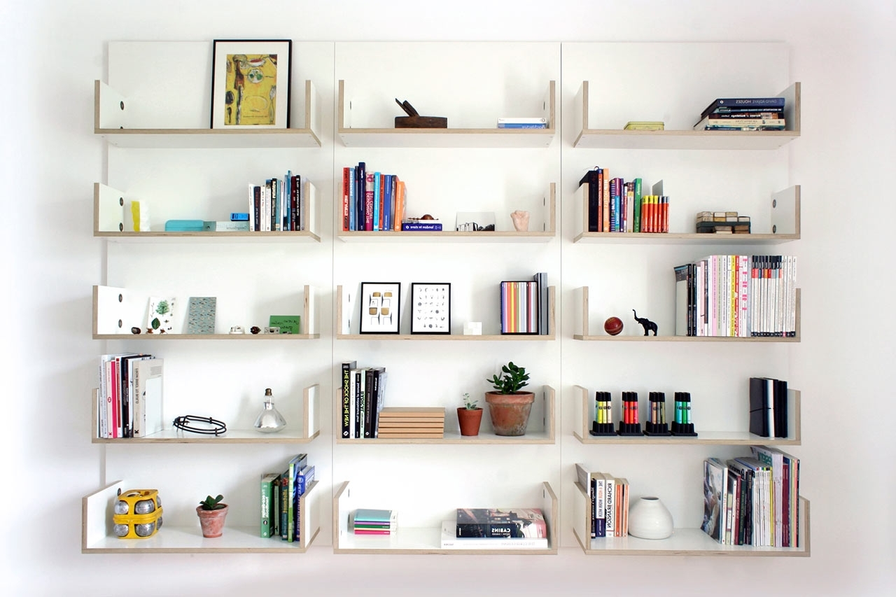 2018 Minimal Modular Shelving Systemben Couture – Design Milk Within Book Shelving Systems (View 1 of 15)