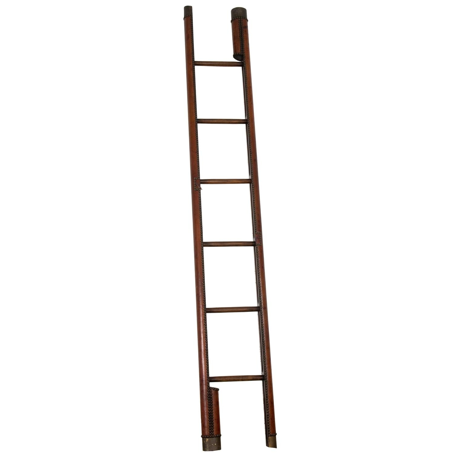 2018 Rare English Folding Library Ladder At 1Stdibs Pertaining To Library Ladder (View 1 of 15)