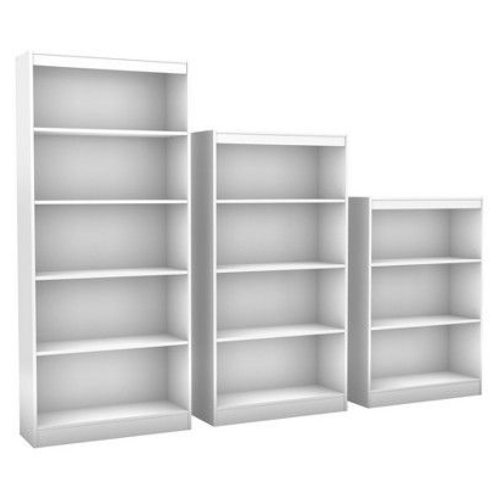 2018 Room Essentials® 5 Shelf Bookcase White : Target (View 4 of 15)