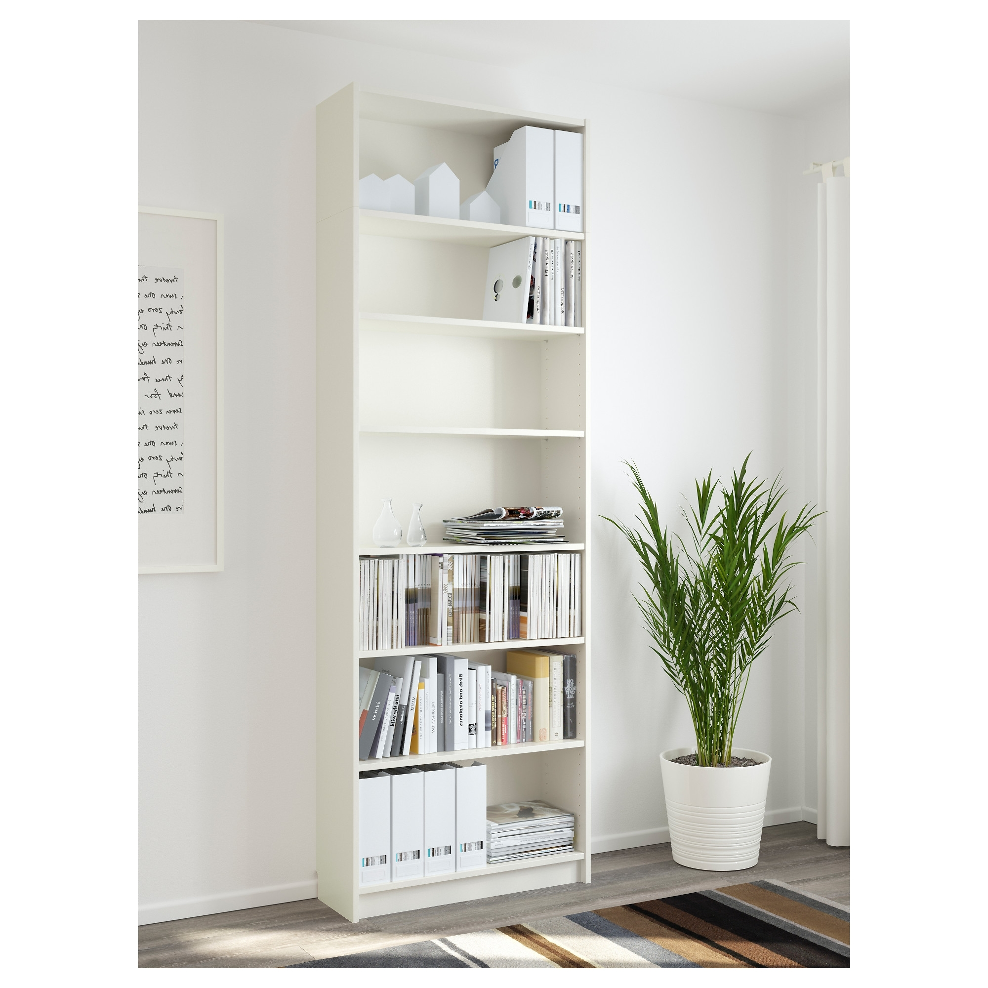 2018 White Billy Bookcases Regarding Billy Bookcase – White – Ikea (View 2 of 15)