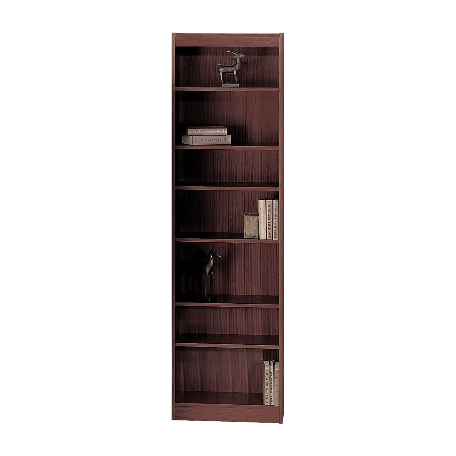 24 Inch Wide Bookcases Within Popular Amazon: Safco 6 Shelf Veneer Baby Bookcase, 24 Inch W (View 3 of 15)