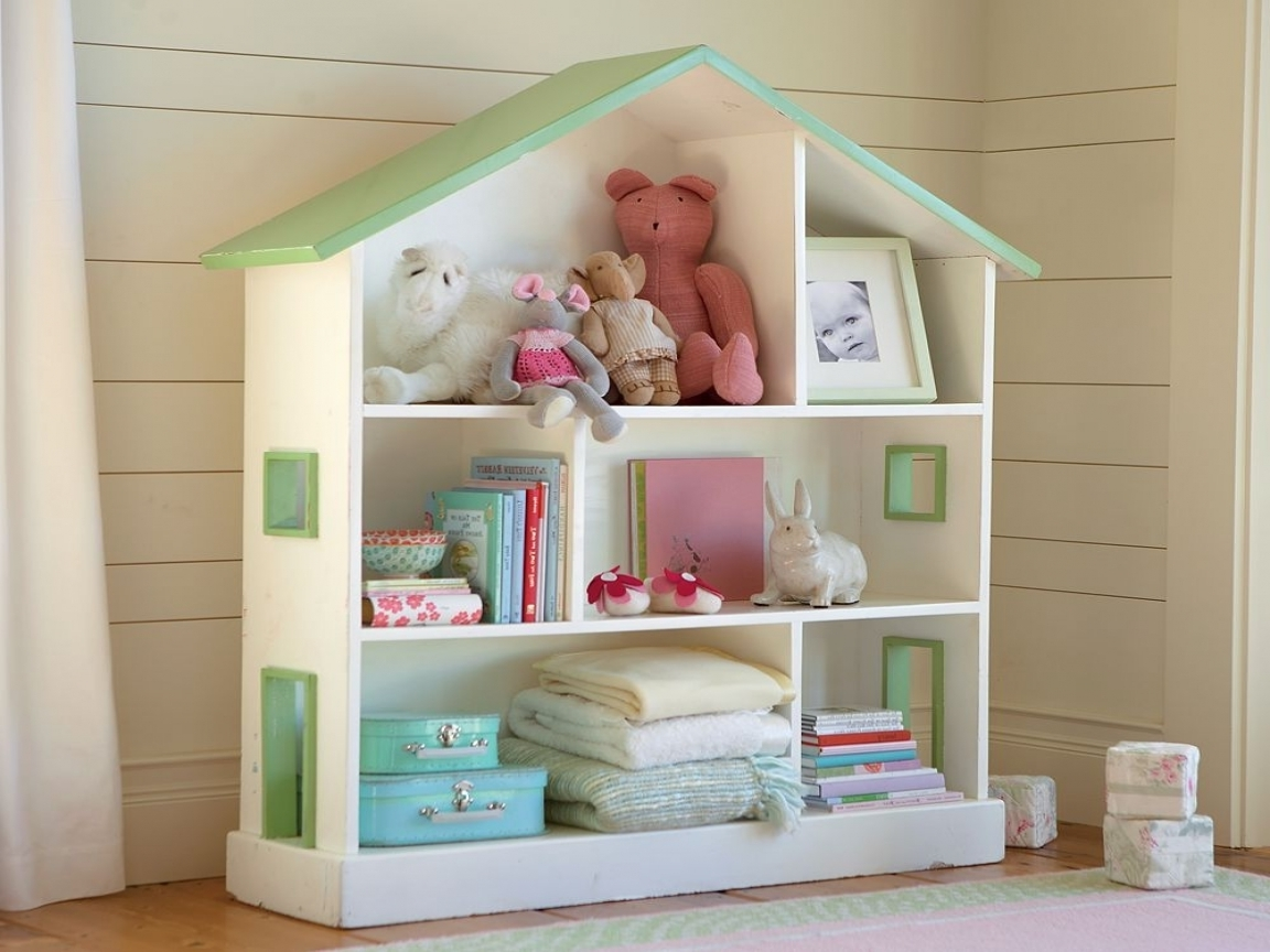 28 Dollhouse Bookcases That Can Be Perfect For Your Kids In Trendy Dollhouse Bookcases (View 1 of 15)