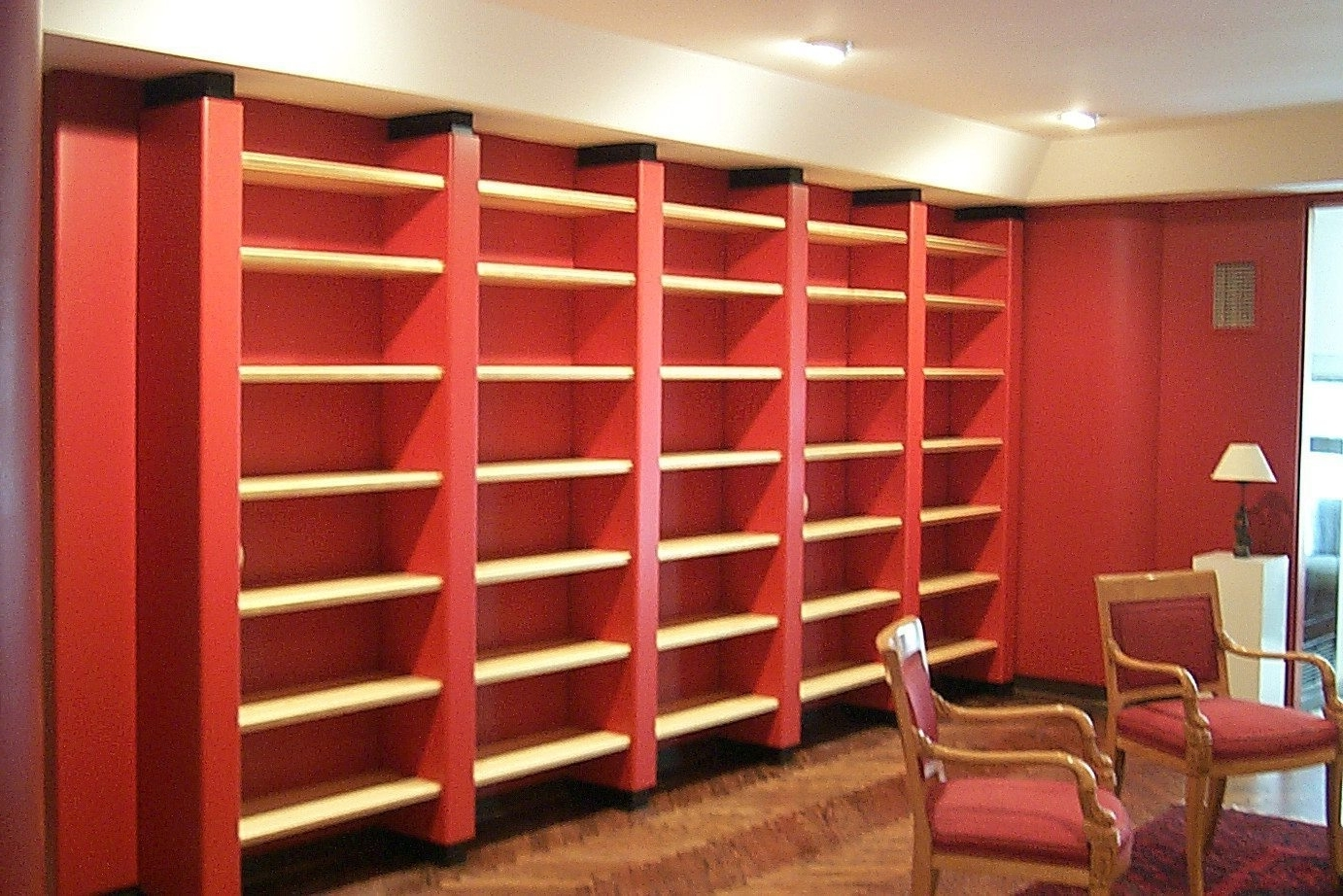 38 Red Bookcases, Bookcases With Doors Red Bookcases With Doors On Inside 2018 Red Bookcases (View 1 of 15)