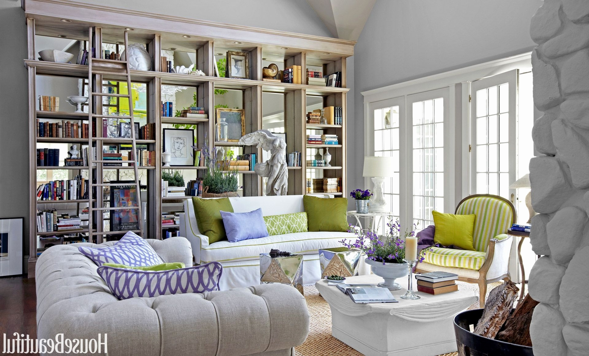 46 Peaceful Living Room Bookcases Graphics (Gallery 15 of 15)