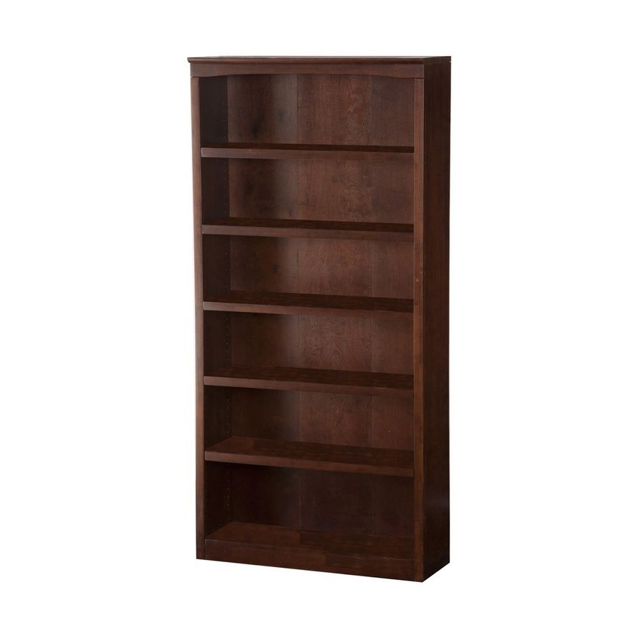 6 Shelf Bookcases Pertaining To Recent Shop Bookcases At Lowes (View 11 of 15)