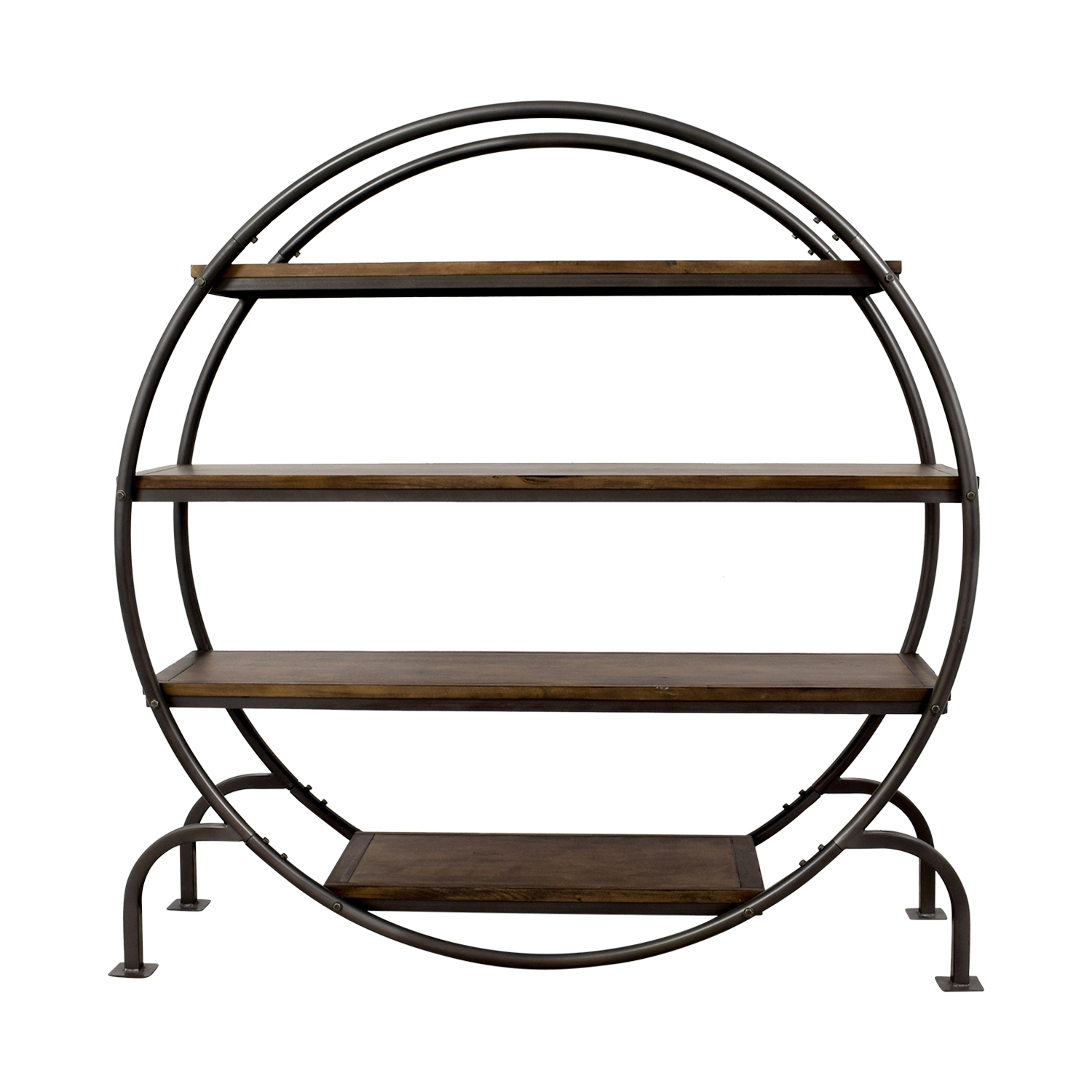 [%61% Off – World Market World Market Round Bookcase / Storage With Regard To Widely Used Round Bookcases|Round Bookcases Inside Well Known 61% Off – World Market World Market Round Bookcase / Storage|Favorite Round Bookcases In 61% Off – World Market World Market Round Bookcase / Storage|Preferred 61% Off – World Market World Market Round Bookcase / Storage Intended For Round Bookcases%] (View 4 of 15)