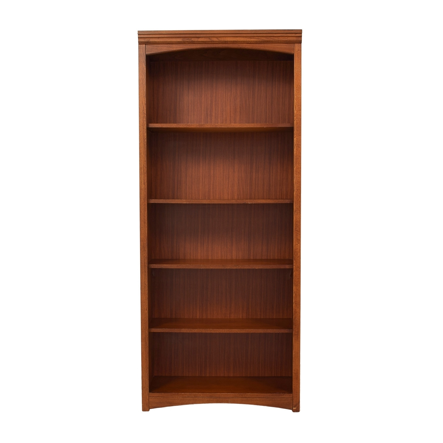 [%68% Off – Bassett Bassett Wooden Bookshelf / Storage Pertaining To Most Up To Date Wooden Bookcases|Wooden Bookcases In 2018 68% Off – Bassett Bassett Wooden Bookshelf / Storage|Well Known Wooden Bookcases With 68% Off – Bassett Bassett Wooden Bookshelf / Storage|Most Current 68% Off – Bassett Bassett Wooden Bookshelf / Storage Throughout Wooden Bookcases%] (View 1 of 15)