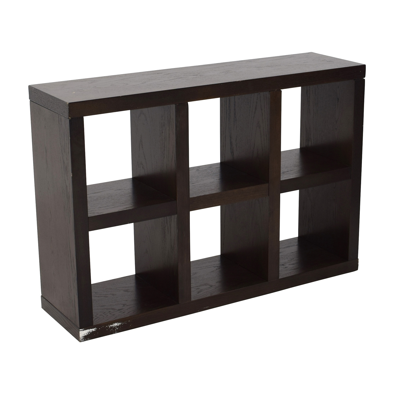 [%78% Off – West Elm West Elm Six Cubical Wooden Bookshelf / Storage With Regard To Well Known West Elm Bookcases|West Elm Bookcases Pertaining To Most Up To Date 78% Off – West Elm West Elm Six Cubical Wooden Bookshelf / Storage|Current West Elm Bookcases For 78% Off – West Elm West Elm Six Cubical Wooden Bookshelf / Storage|Fashionable 78% Off – West Elm West Elm Six Cubical Wooden Bookshelf / Storage Throughout West Elm Bookcases%] (View 3 of 15)