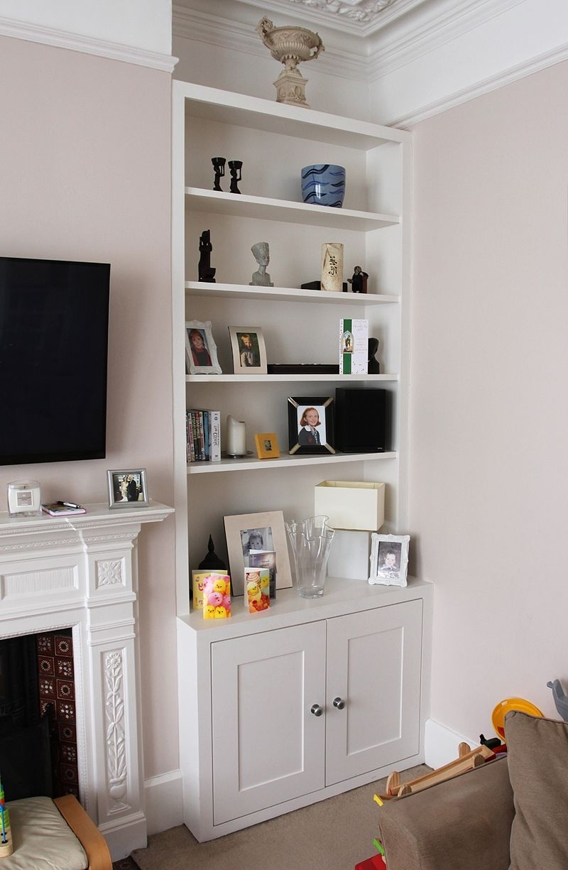 82 Plassey In Trendy Alcove Bookcases (Gallery 6 of 15)