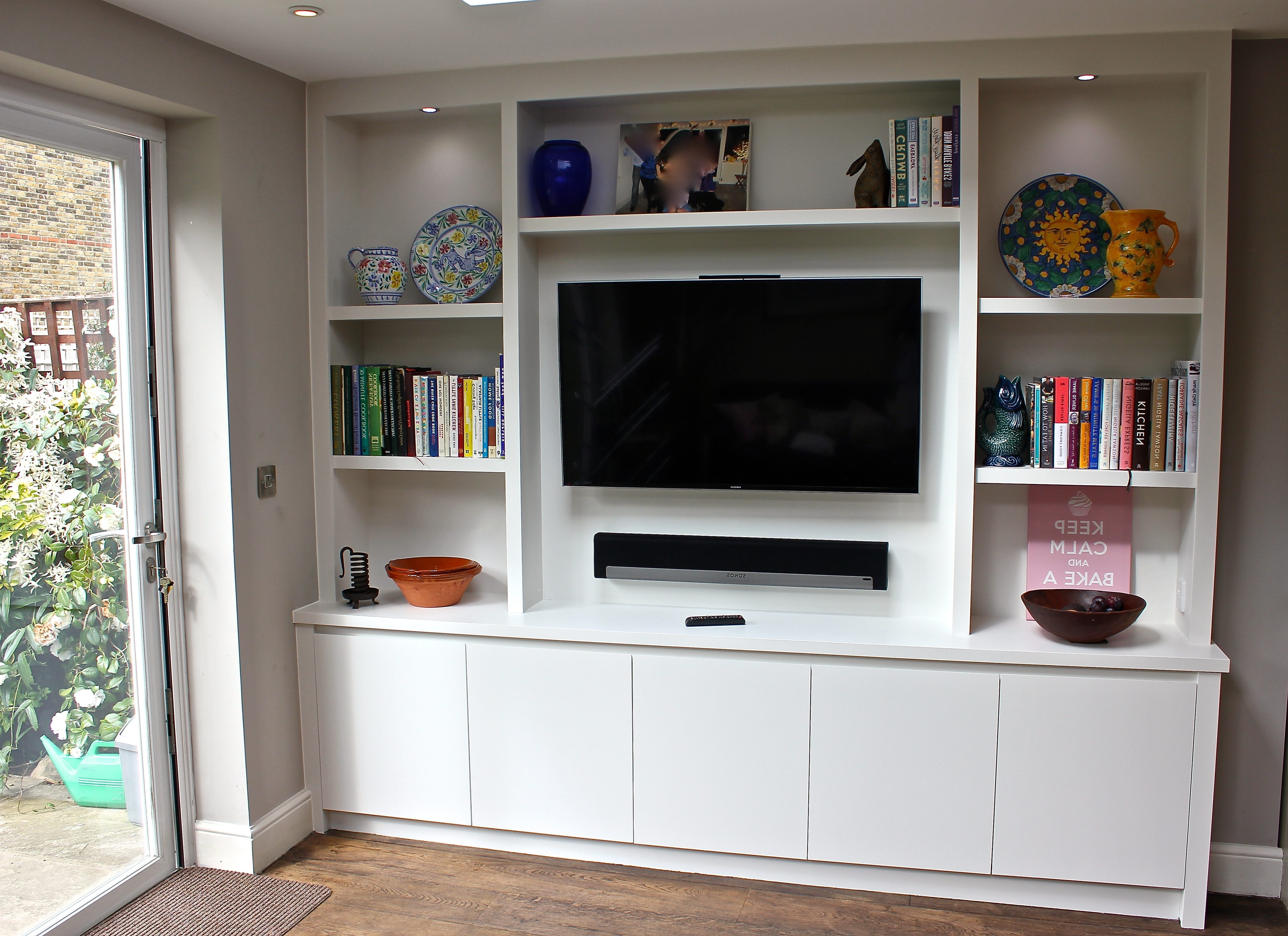 A Contemporary Bespoke Bookcase/display Unit (View 11 of 15)