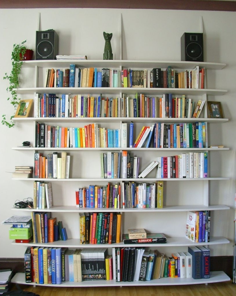 Accessories: Beautiful Living Room Ideas On How To Build A Wall Inside Best And Newest Freestanding Bookcases Wall (View 2 of 15)