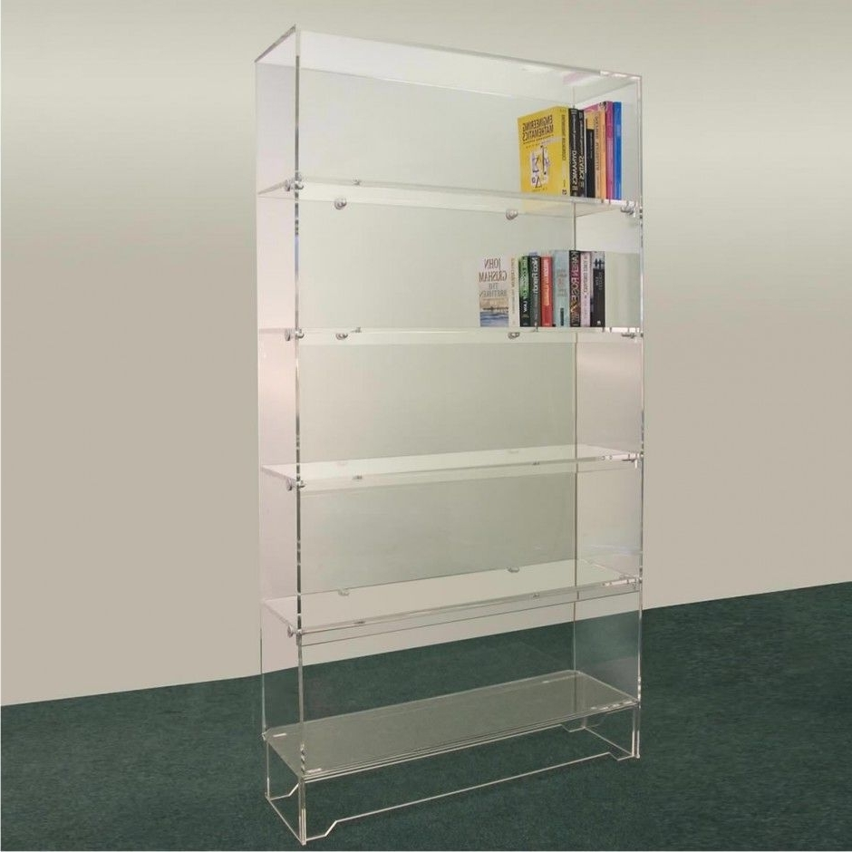 Acrylic Bookcases Pertaining To Most Up To Date Furniture Acrylic Bookshelf For Acrylic Bookcase Ideas Cool (View 3 of 15)