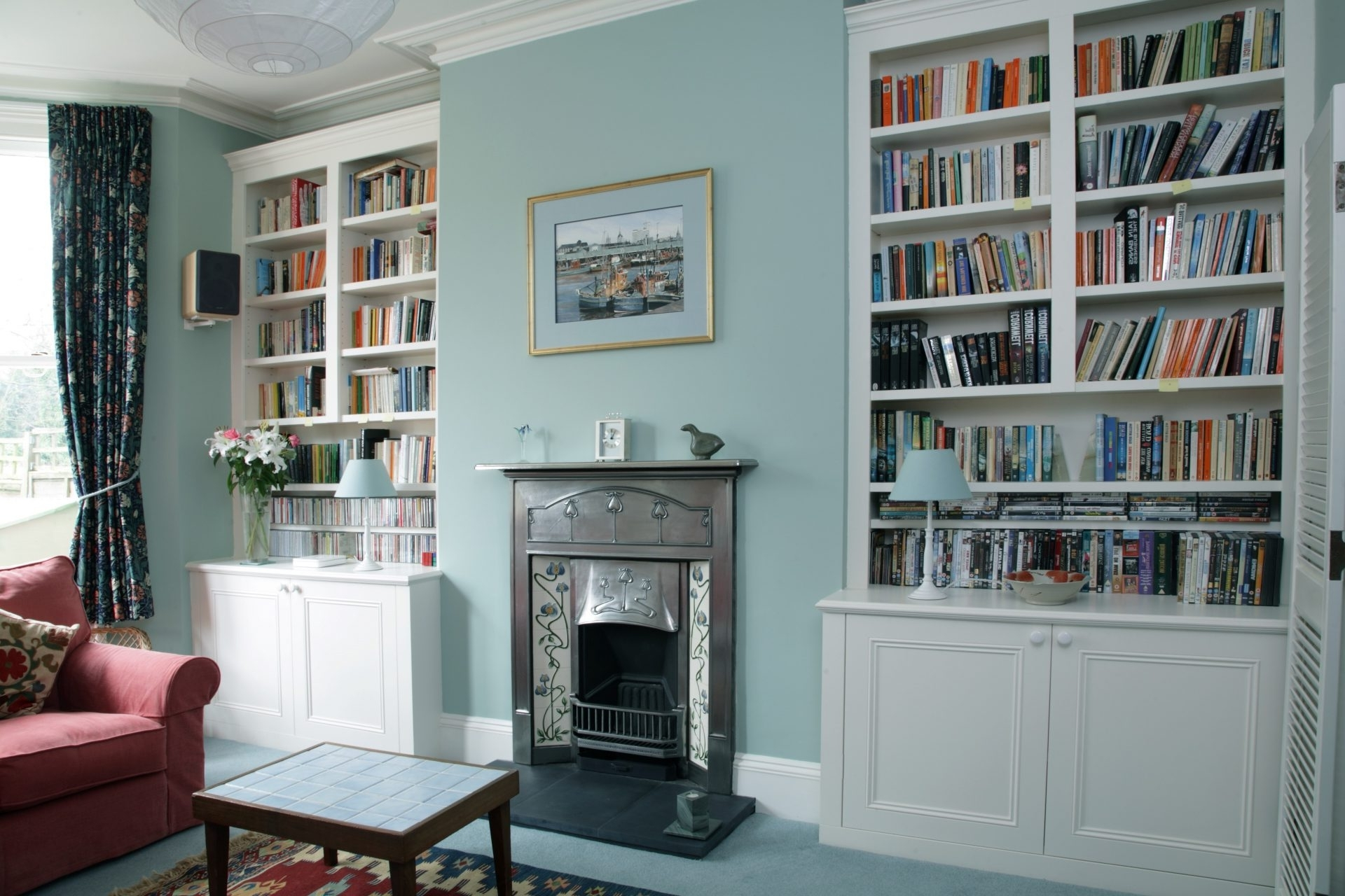 Alcove Bookcases Throughout Newest ♛ Bespoke Alcove Bookcases U2013 Joat London  Bespoke Furniture Company (View