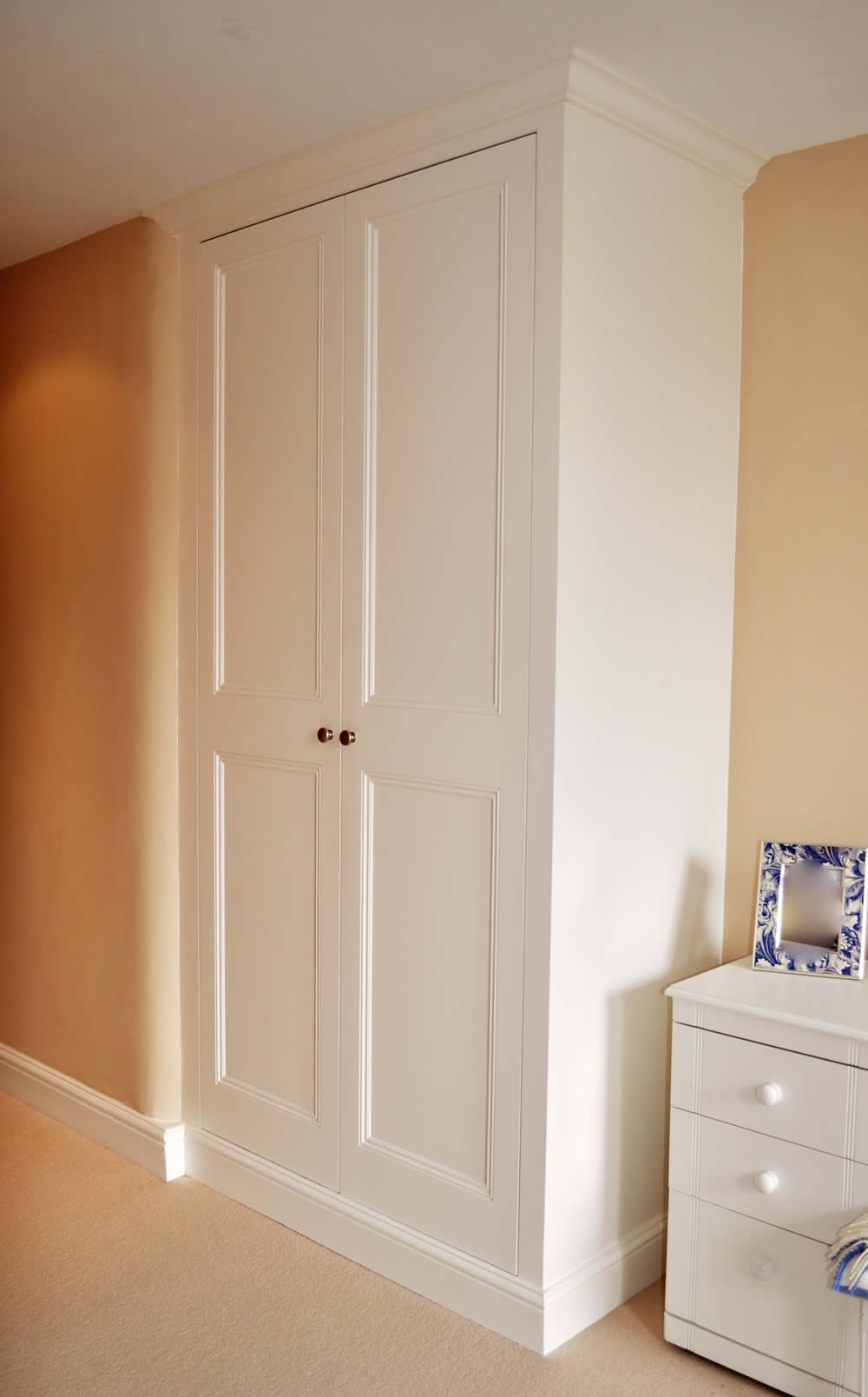 Alcove Wardrobes Inside Latest Bespoke Fitted Wardrobes And Cupboards (View 14 of 15)