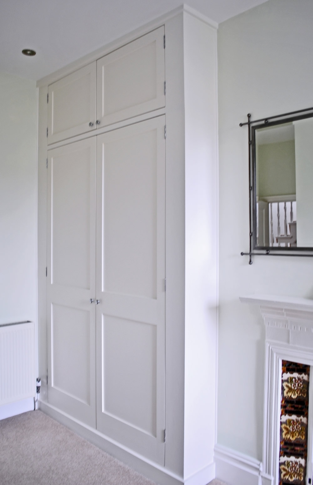 Alcove Wardrobes Regarding Latest Bespoke Fitted Wardrobes And Cupboards (View 2 of 15)
