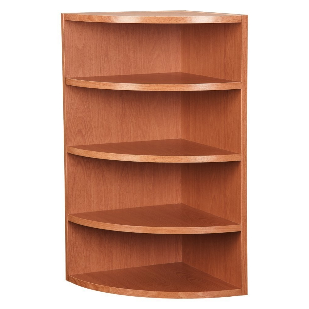 Amazon: Corner Radius Cube: Kitchen & Dining Intended For 2017 Corner Oak Bookcases (View 1 of 15)