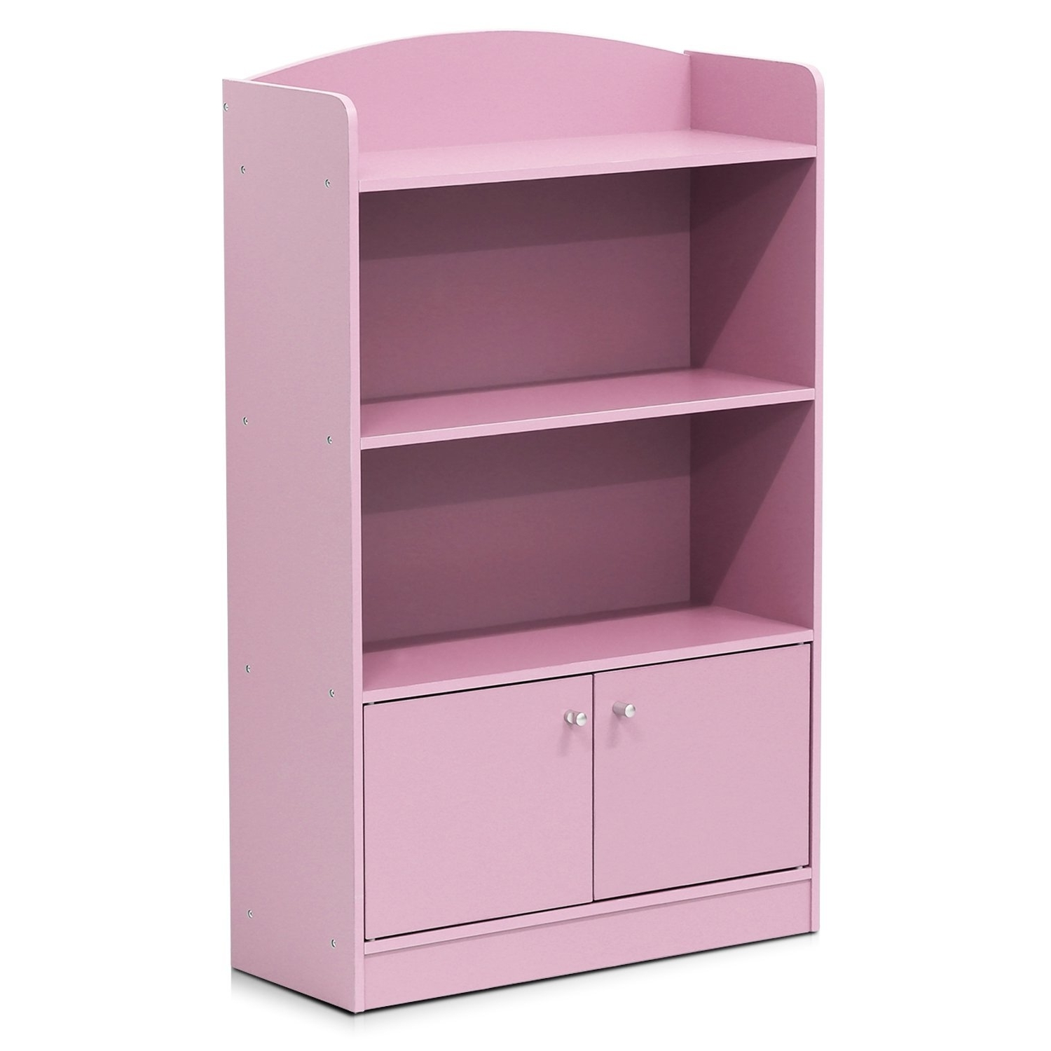 Amazon: Furinno Fr16121Pk Stylish Kidkanac Bookshelf With Regarding Best And Newest Pink Bookcases (View 1 of 15)