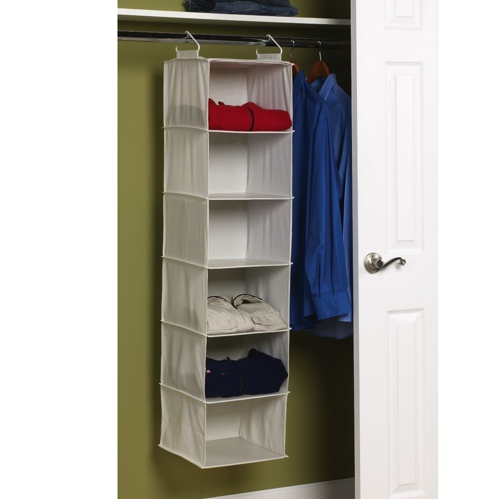 Amazon: Household Essentials 311312 Hanging Closet Organizer Inside Widely Used Plastic Wardrobes Box (View 2 of 15)