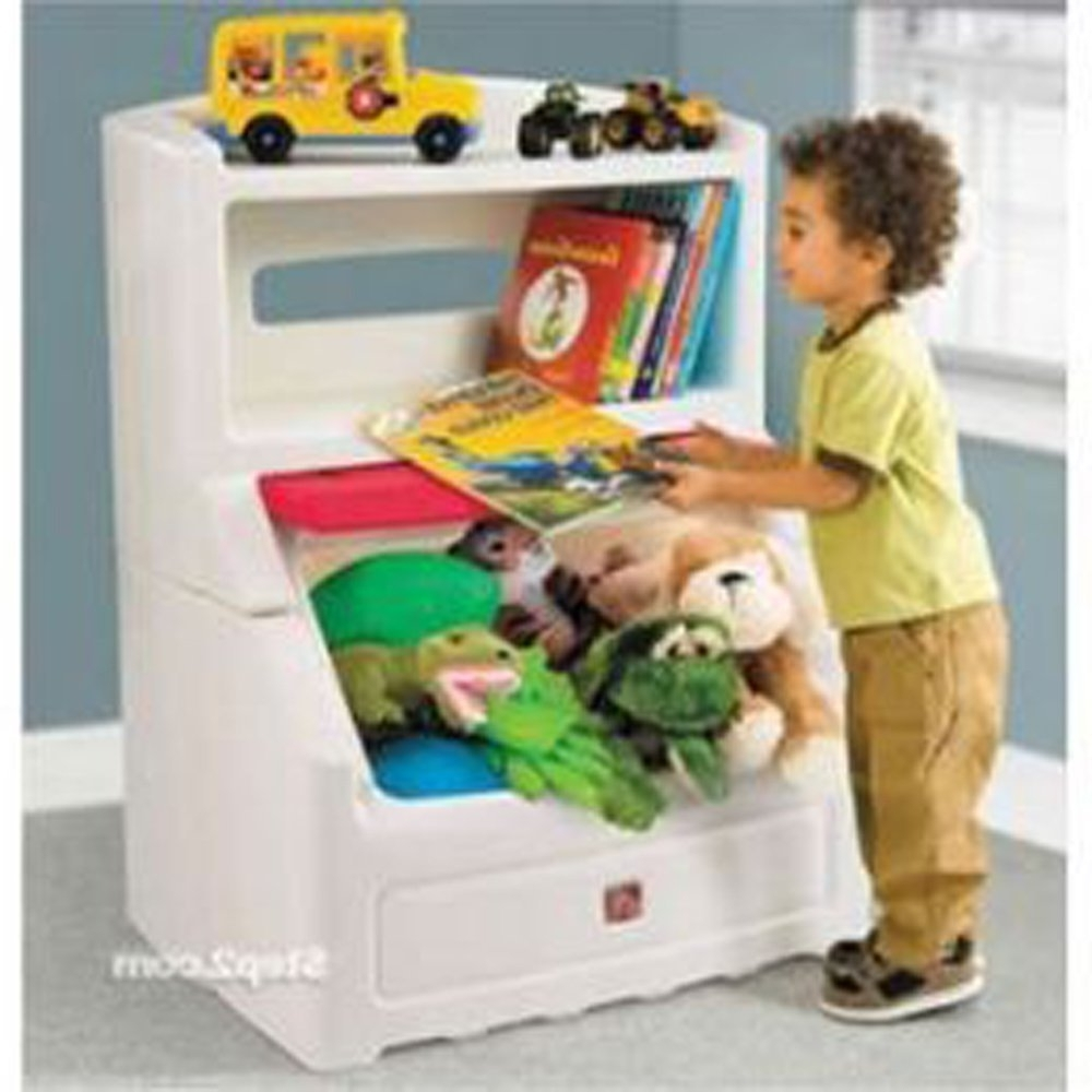 Amazon: Step2 Lift And Hide Bookcase Storage Chest For Kids In Most Current Step2 Lift And Hide Bookcases Storage Chest (View 7 of 15)