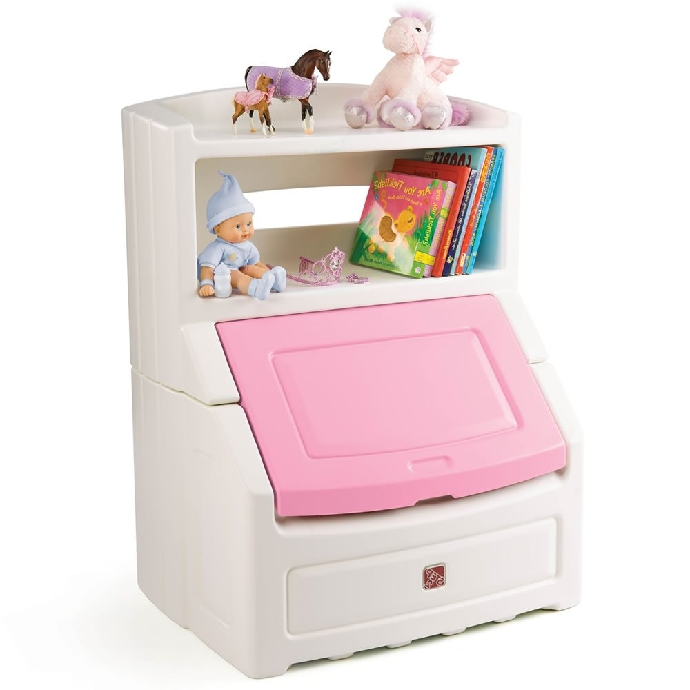 Amazon: Step2 Lift And Hide Bookcase Storage Chest: Toys Regarding Well Known Step2 Lift And Hide Bookcases Storage Chest (View 6 of 15)