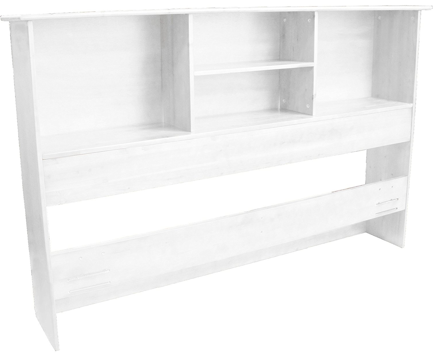 Amazon: Stockholm Bamboo Solid Bookcase Headboard, Full/queen With Regard To Latest Queen Bookcases Headboard (View 3 of 15)