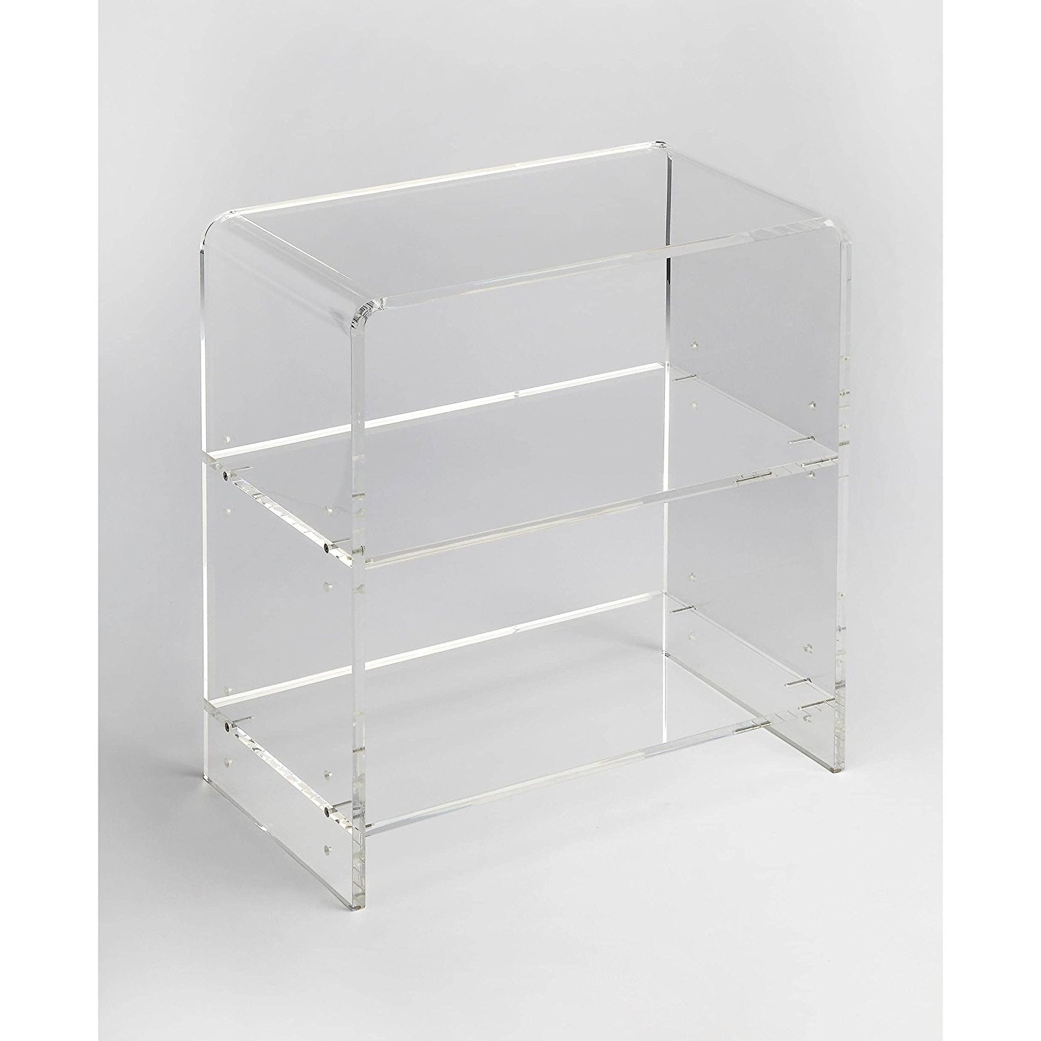 Amazon: Woybr 3611335 Bookcase Modern: Kitchen & Dining Inside Newest Acrylic Bookcases (View 4 of 15)