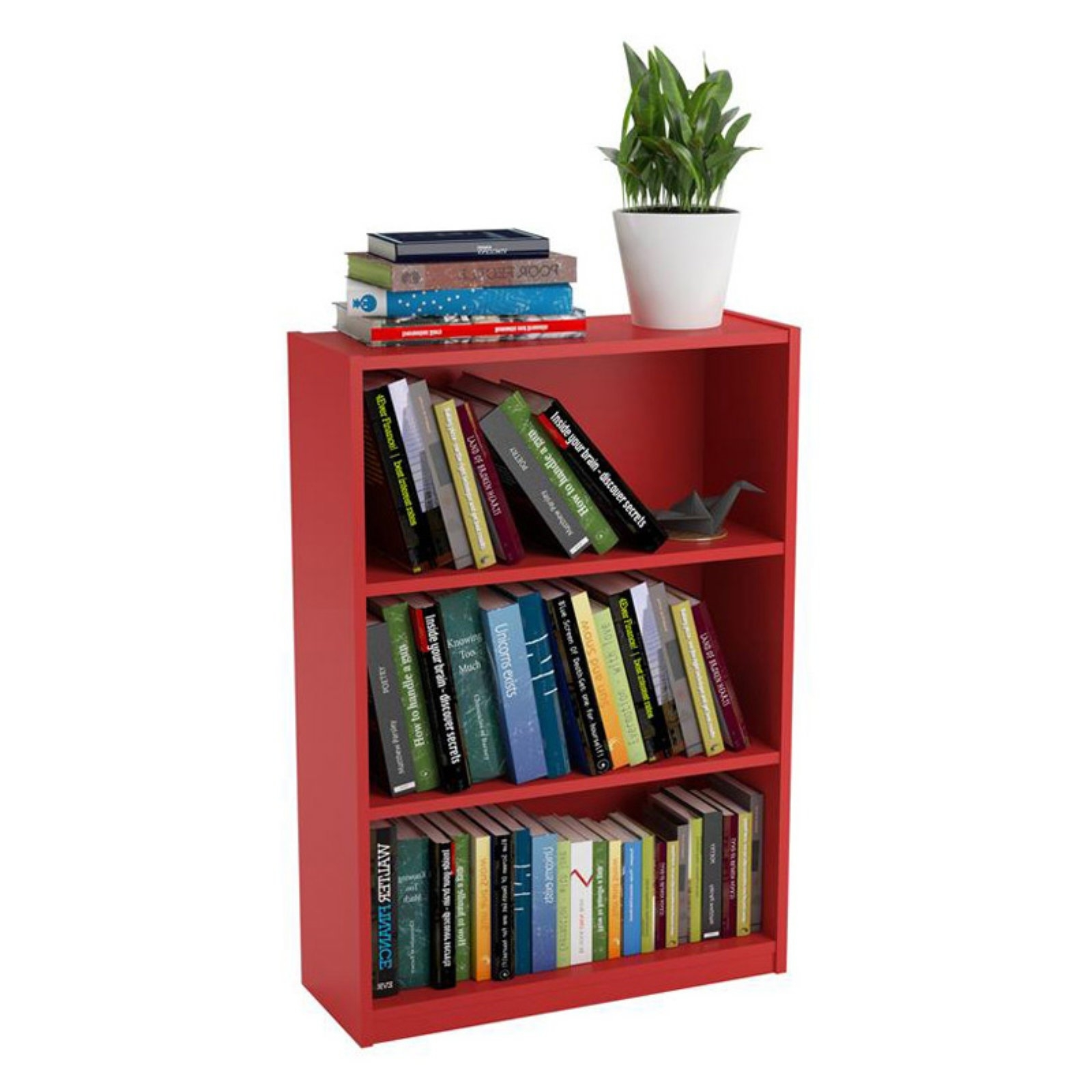 Ameriwood 3 Shelf Bookcase, Multiple Finishes – Walmart With Regard To Most Current Ameriwood 3 Shelf Bookcases (View 5 of 15)